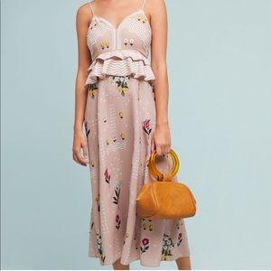 Anthropologie Sahil Kochhar Sahara Floral Dress 12